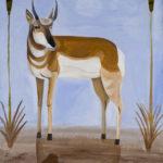 Antelope : 59x40 : Acrylic : SOLD