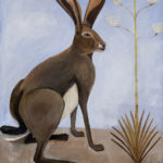 Jack Rabbit : 59x49 : Acrylic : SOLD