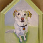 Jessie : Oil on Board