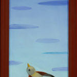 Out of Hand : 32x11.5 : Oil on Board w/ Frame - Sold