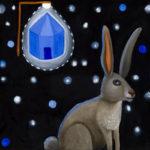 Rabbit near Gray Mountain : 12x12 : Oil - SOLD